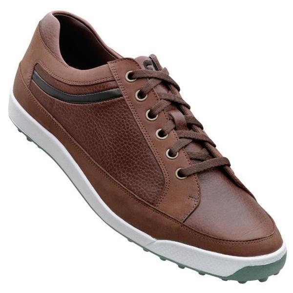 FootJoy Men's Contour Casuals Brown Golf Shoes