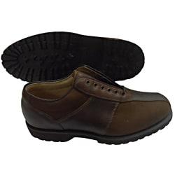 Men's FootJoy Spikeless Brown Casual Walkers Blems