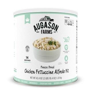 Augason Farms Freeze Dried Chicken Fettuccine Alfredo Kit 42 oz #10 Can