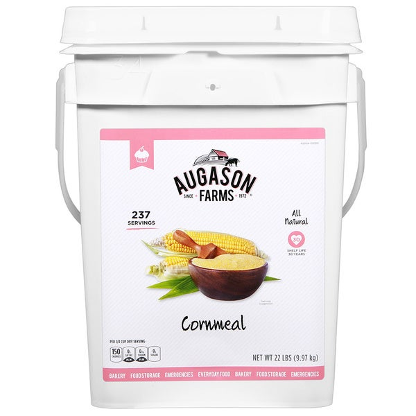 Augason Farms Cornmeal Pail
