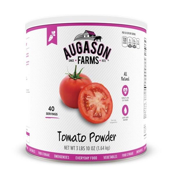 Augason Farms Tomato Powder Emergency Food Storage #10 Can