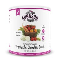 Augason Farms Vegetable Garden Seeds 13 Variety 1 lb No. 10 Can