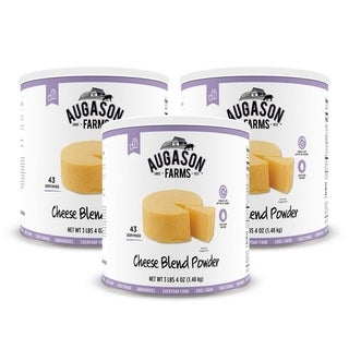 Augason Farms Cheese Blend Powder 3 lbs 4 oz No. 10 Can