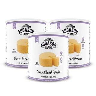 Augason Farms Cheese Blend Powder 3 lbs 4 oz No. 10 Can (2 options available)