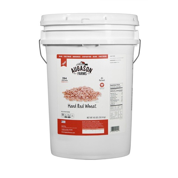 Augason Farms Hard Red Wheat Pail