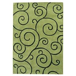 Alliyah Handmade Hand-tufted Lime Green with Black Mehendi Pattern New Zealand Blend Wool Rug (9' x 12')|https://ak1.ostkcdn.com/images/products/7252049/Alliyah-Hand-Made-Tufted-Lime-Green-New-Zealand-Blend-Wool-Rug-9-x-12-P14731597.jpg?_ostk_perf_=percv&impolicy=medium