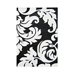 Alliyah Handmade Sabrina Off-white New Zealand Blend Wool Rug (9' x 12')