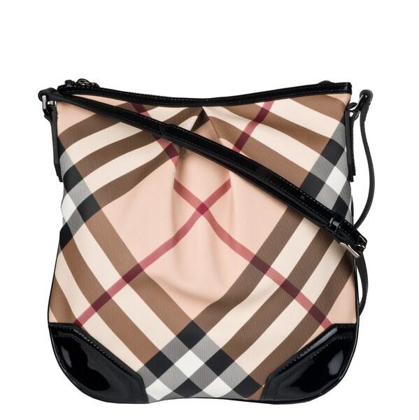 Shop Burberry 3763974 Medium Nova Check Crossbody Bag - Free ... 1991c585ebdf5