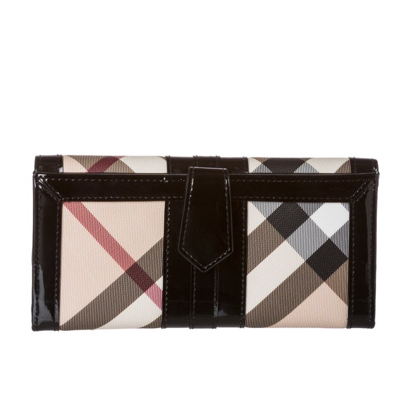 9f9cad8b1657 Shop Burberry Nova Check Wallet - Free Shipping Today - Overstock ...
