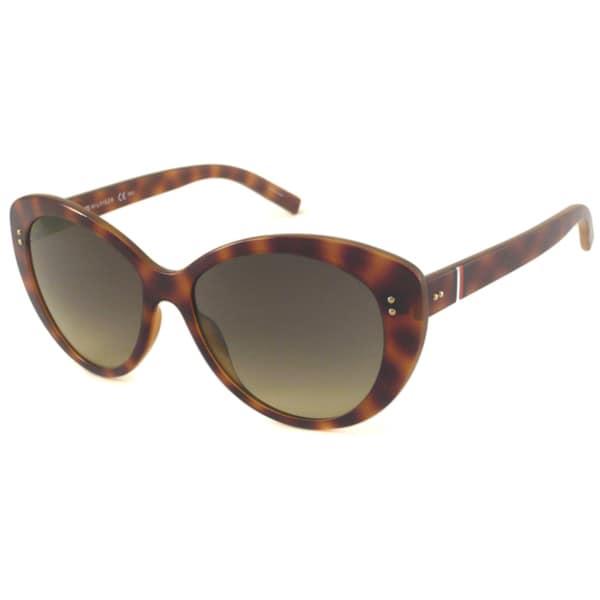 Tommy Hilfiger Women's TH1084 Cat-Eye Sunglasses