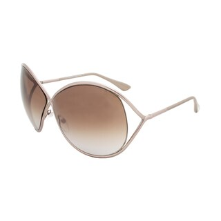 Tom Ford Women's TF0131 Lilliana Oversize Sunglasses