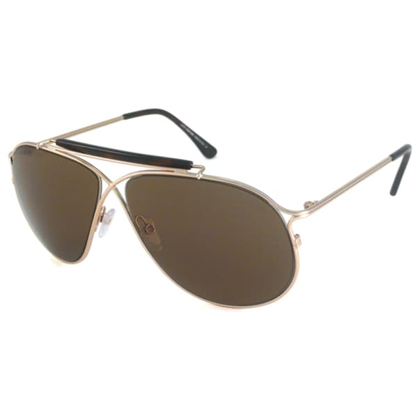 Tom Ford Men's TF0193 Magnus Rectangular Sunglasses