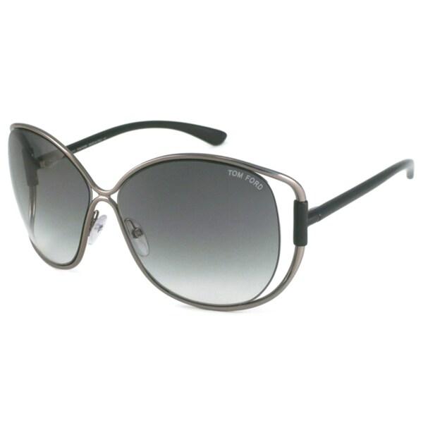 Tom Ford Women's TF0155 Emmeline Rectangular Sunglasses