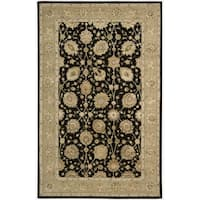 Nourison 3000 Hand-tufted Black Rug - 8'6 x 11'6