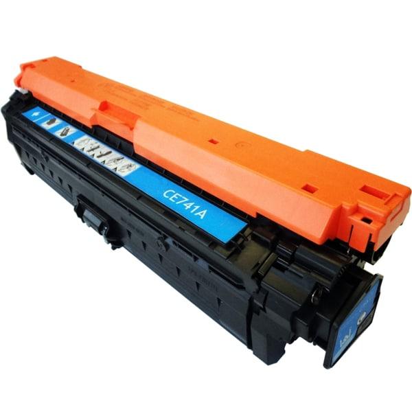 HP Laser Jet CE741A Compatible Cyan Toner Cartridge