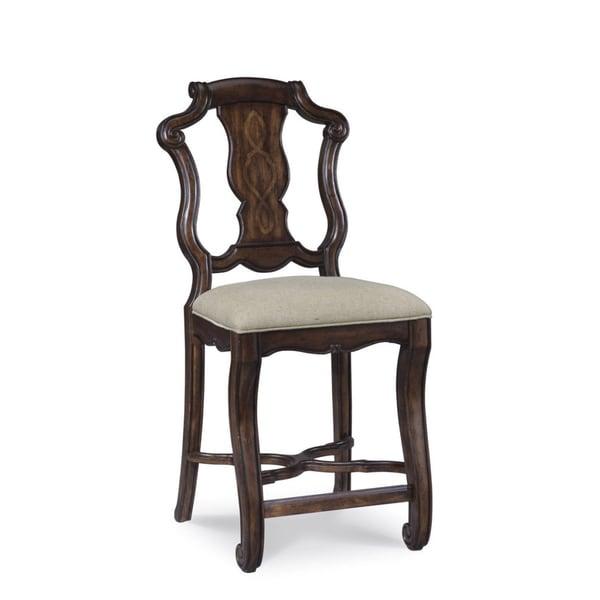 A.R.T. Furniture Coronado Linen Counter Height Chair (Set of 2)