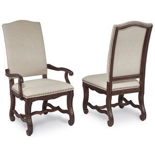 A.R.T. Furniture Coronado Linen Upholstered Dining Chair (Set of 2)