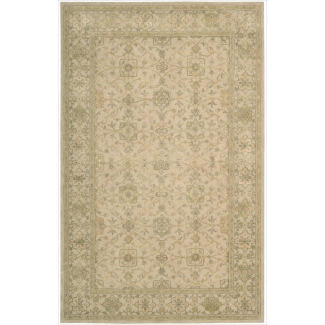 Nourison 3000 Hand-tufted Beige Rug (8'6 x 11'6)