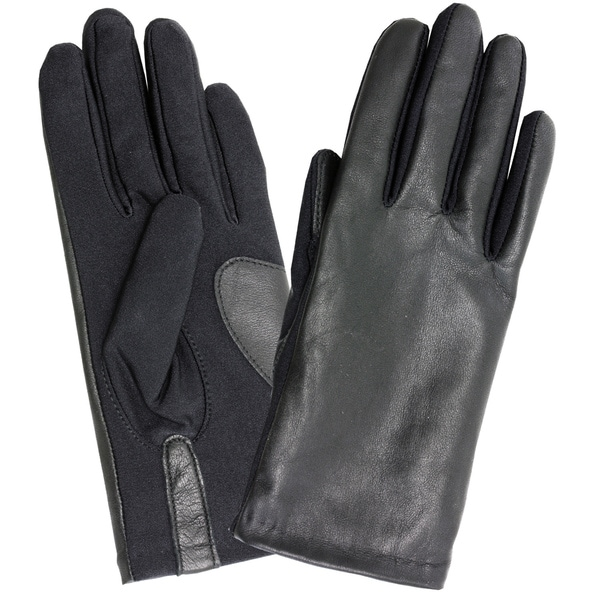 Isotoner Women's Stretch One Size Leather Gloves