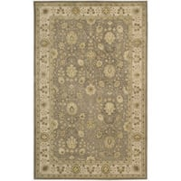 Nourison 3000 Hand-tufted Taupe Rug (8'6 x 11'6) - 8'6 x 11'6