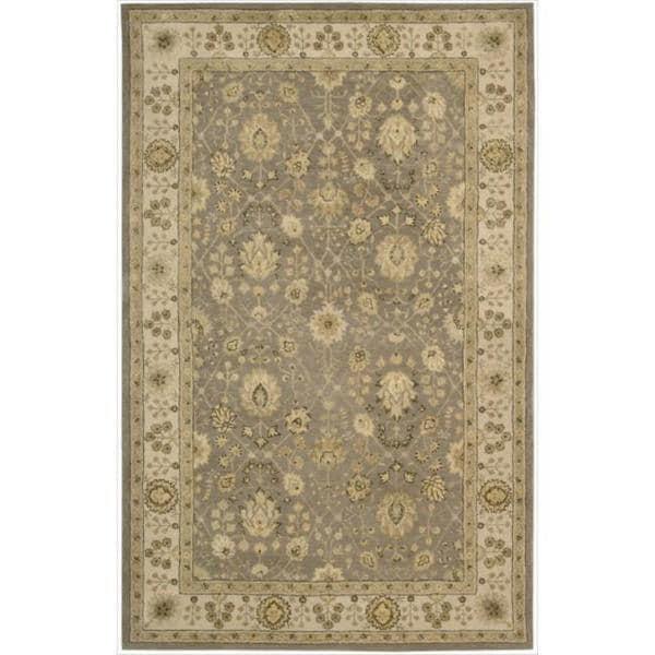 Nourison 3000 Hand-tufted Taupe Rug - 8'6 x 11'6