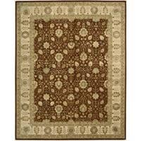 Nourison 3000 Hand-tufted Rust Wool Rug - 9'9 x 13'9