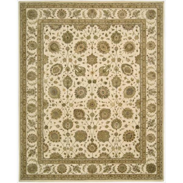 Nourison 3000 Hand-tufted Ivory Rug (8'6 x 11'6)