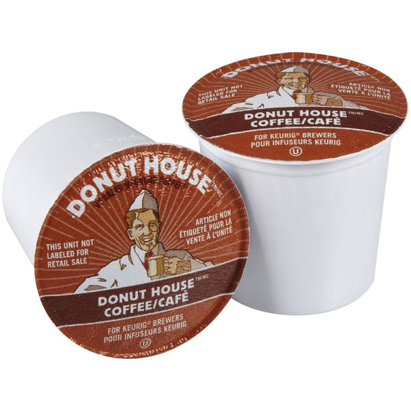 Donut House Collection Light Roast Coffee K-Cups for Keurig Brewers (Pack of 96)