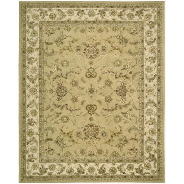 Nourison 3000 Hand-tufted Yellow Rug (8'6 x 11'6)