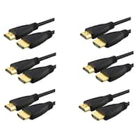 INSTEN High-speed HDMI Cable (Pack of 6)