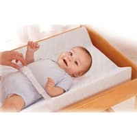 Summer Infant White Vinyl Contoured Changing Pad