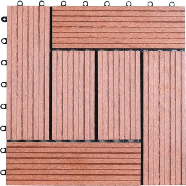 Naturesort bamboo 12 inch floor tiles pack of 11 free for Bamboo flooring outdoor decking