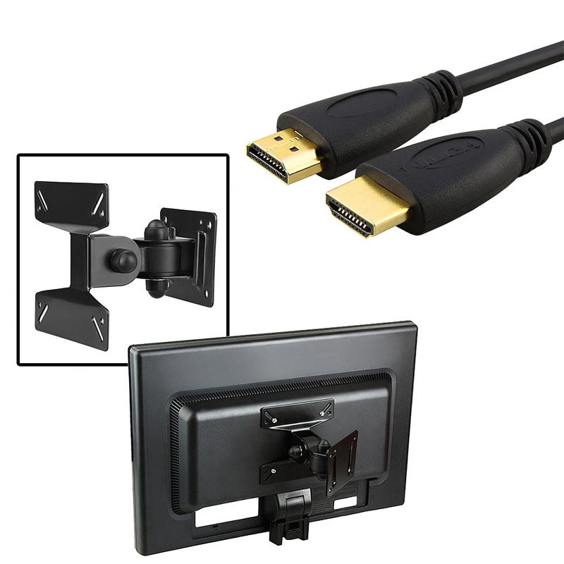 INSTEN 6-foot High-speed HDMI Cable/ Wall Mount for Plasma Television
