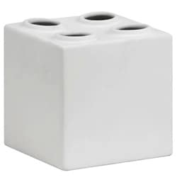 Bloque Double White Sculpture
