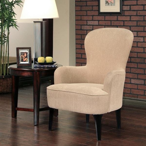 Abbyson Living Laguna Beige Fabric Armchair