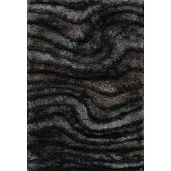 Hand-woven Perseus Midnight Rug (3'6 x 5'6)