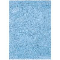 "Hand-tufted Hedwig Blue Rug (3'6 x 5'6) - 3'6"" x 5'6"""