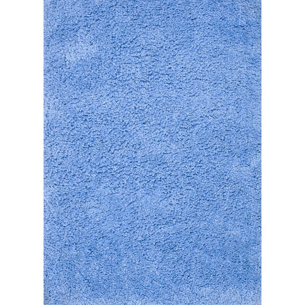 Hand-tufted Hedwig Blue Rug (5'0 x 7'6)