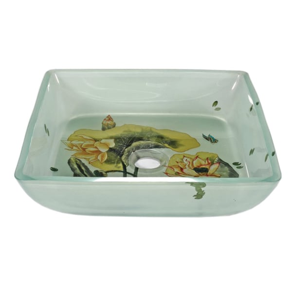 Contemporary Glass Sink Bowl