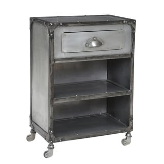 Pop Rivet Industrial Nightstand