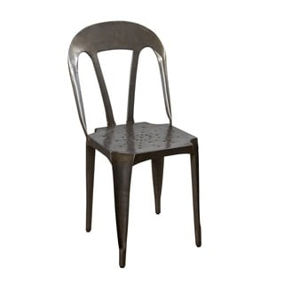 Handmade Natural Kullu Metal Chair (India)