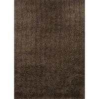 """Hand-tufted Hedwig Brown Rug (3'6 x 5'6) - 3'6"""" x 5'6"""""""