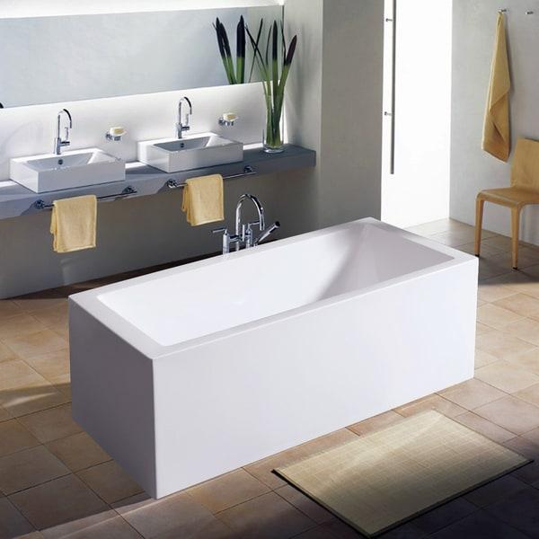 Aquatica Purescape 323A Freestanding Acrylic Bathtub