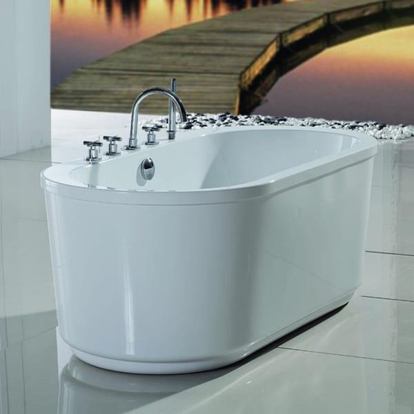 Aquatica Purescape 103 Freestanding Acrylic Bathtub