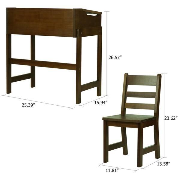 Strange Shop Childs Slanted Top Desk With Chair On Sale Free Dailytribune Chair Design For Home Dailytribuneorg