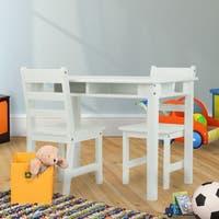 Children's Wood Rectangular Table/Chair Set