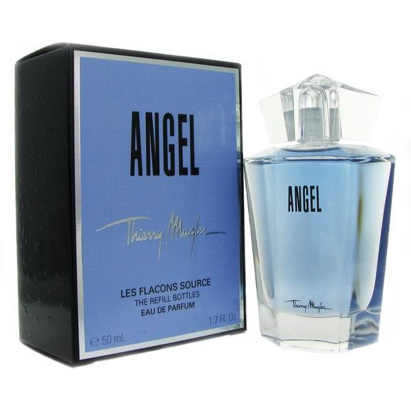 Mugler Perfume Refill: Shop Thierry Mugler Angel Women's 1.7-ounce Eau De Parfum Splash (Refillable)
