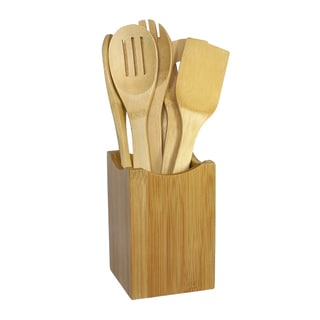 Oceanstar 7-piece Bamboo Cooking Utensil Set