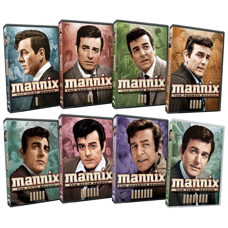 Mannix: Complete Series Pack (DVD)