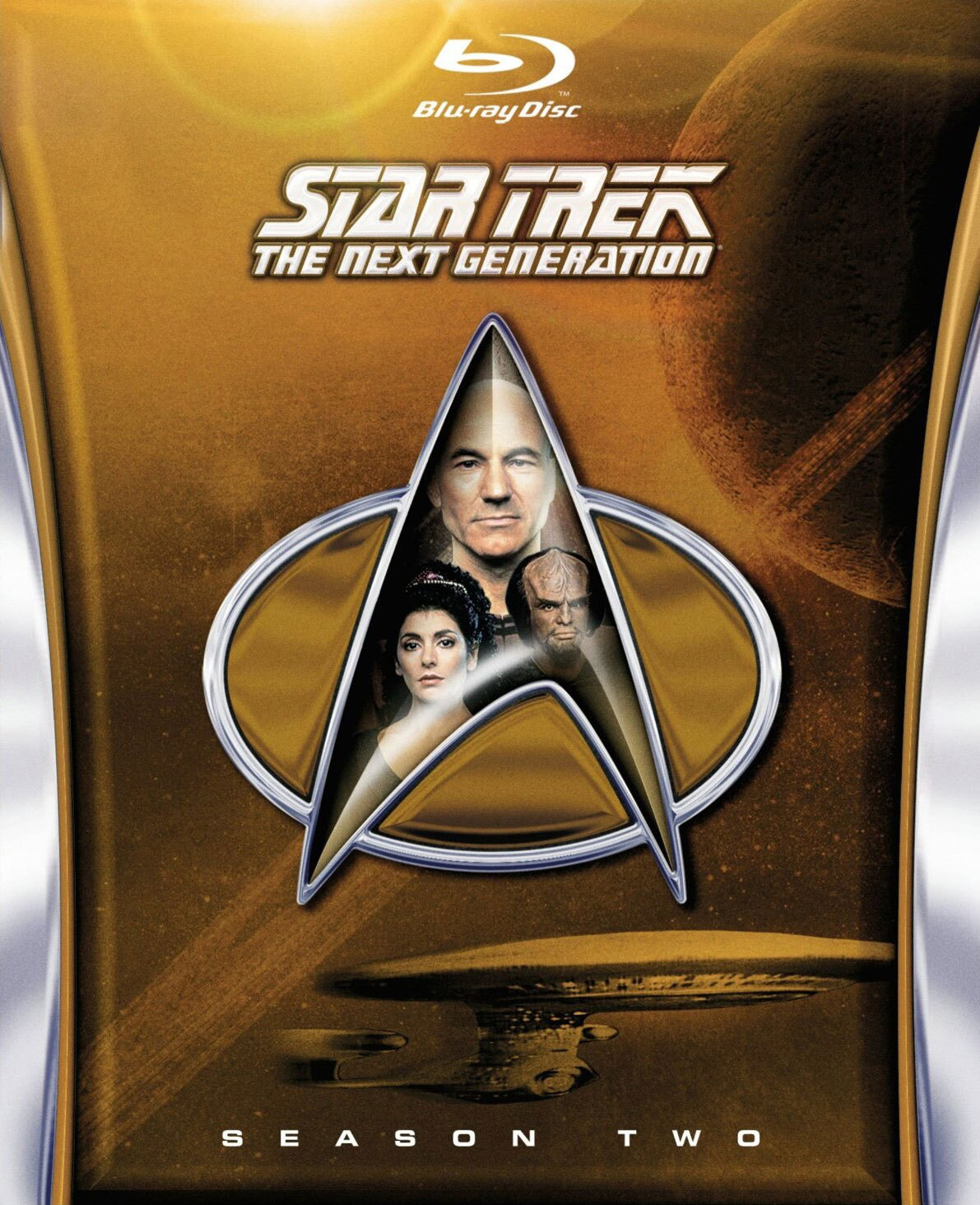 Star Trek: The Next Generation Season 2 (Blu-ray Disc)